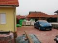 Bodenplatte Garage und Pflaster Zufahrt