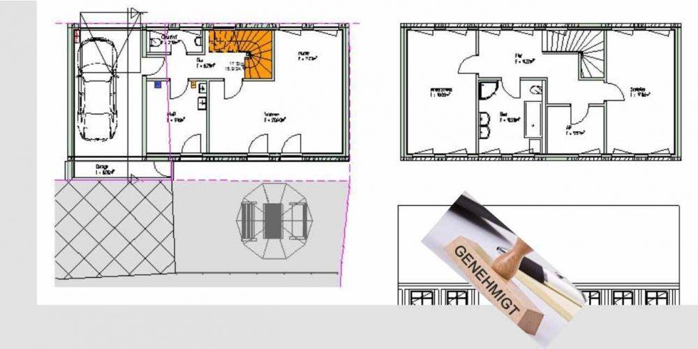 baugenehmigung architekt und haus preiswert und sicher. Black Bedroom Furniture Sets. Home Design Ideas