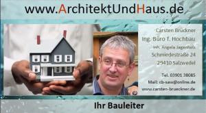 Visitenkarte Carsten Brückner - Hausbau Salzwedel