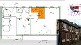 Entwurf Altbau in Salzwedel mit Grundrissen und Ansichten Altbau kaufen